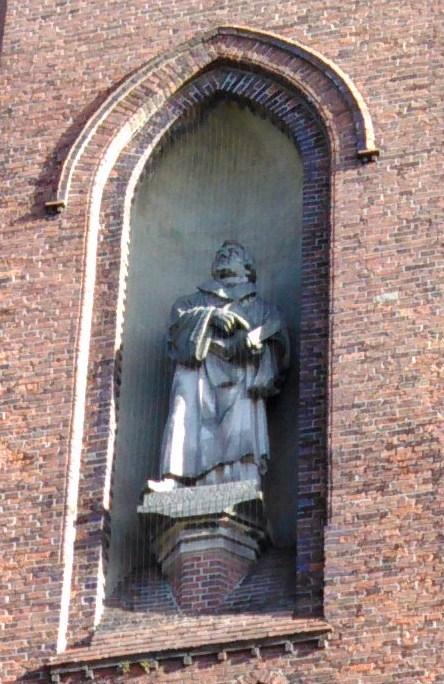 Luther steht und kann nicht anders