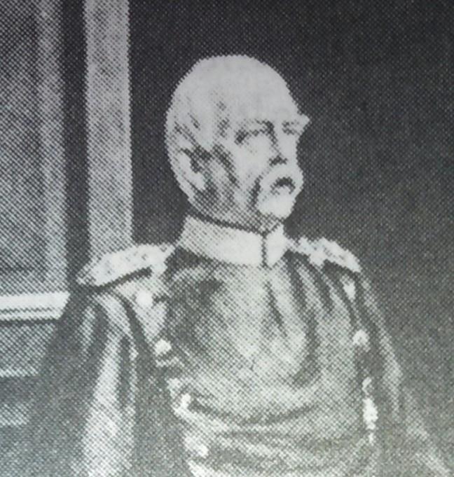 Skizze zu Bismarcks Geburtstag